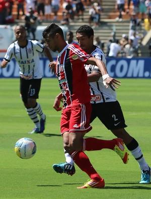 William, atacante do Botafogo-SP (Foto: Rogério Moroti/Ag. Botafogo)