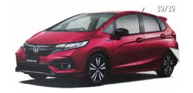 Honda Fit reestilizado para o Japão vaza antes do lançamento (Foto: Reprodução / Indian Autos Blog)