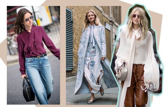 Use a camisa no lugar do laço (Foto: Arte Vogue Online)