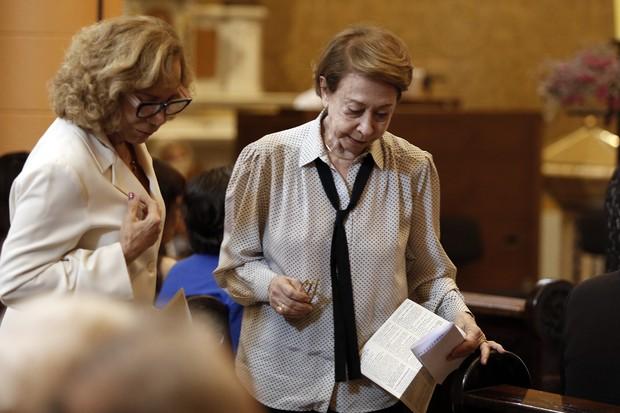 Missa Marília Pêra - Fernanda Montenegro e Arlete Salles (Foto: Marcos Serra Lima/ EGO)