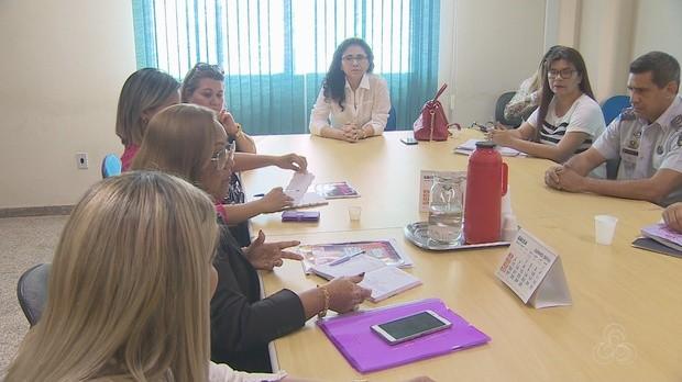 Patrulha, Maria da Penha, Implementação, Macapá, Amapá (Foto: Bom Dia Amazônia)