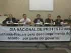 Auditores da Receita paralisam atividades na Alfândega de Santos