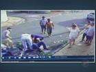 Vídeo mostra casal de motociclistas escapando da morte no interior de SP
