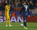 Oscilação, cabeça quente e cartão: Neymar liga alerta da imprensa catalã