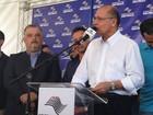 'Não temos interesse em arrecadar', diz Alckmin sobre multa da água