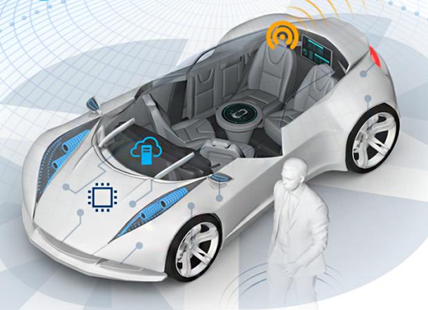 Intel lançou este ano o Intel GO, uma plataforma para carros autônomos (Foto: Divulgação)