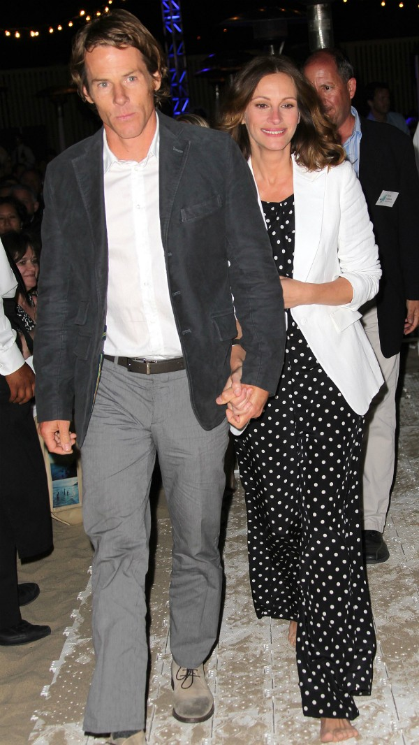 Julia Roberts e seu marido, Danny Moder (Foto: Getty Images)