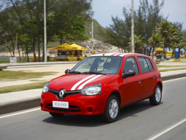 Renault Clio (Foto: Divulgação)