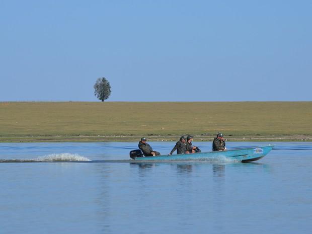 G1 Percorreu 150 km do Rio Piracicaba durante 3ª expedição realizada pelo Grude (Foto: Camila Ancona/G1)