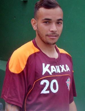 Rodolfo atacante Boa Esporte (Foto: Edimar Mariano / Divulgação Boa Esporte)