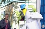 'Cegonho' de 'Êta Mundo Bom' faz sucesso nos Estúdios Globo