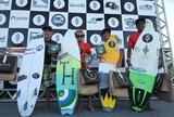 Surfistas potiguares brilham em competição no litoral Norte do Ceará