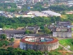 Complexo Penitenciário da Mata Escura, em Salvador (Foto: Reprodução/TV Bahia)