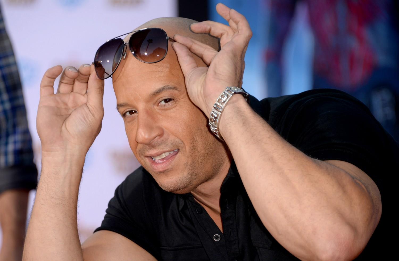 Vin Diesel já usou seus músculos para outra apropriada finalidade além de filmes de ação: foi segurança de uma balada em Nova York. (Foto: Getty Images)