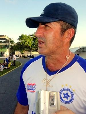 Paulo Moroni, treinador do Parnahyba  (Foto: Gláucio Júnior/Portal F5)