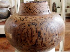 Urna Funerária de Cerâmica Marajoara (Foto: Divulgação)