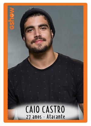 Caio Castro na seleção sub-30 (Foto: TV Globo)