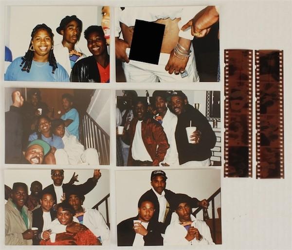 As outros fotos de Tupac colocadas em leilão (Foto: Divulgação)