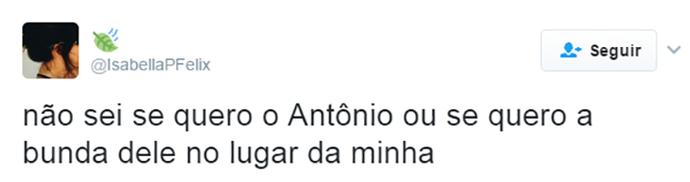 Tweet Antônio (Foto: Reprodução)