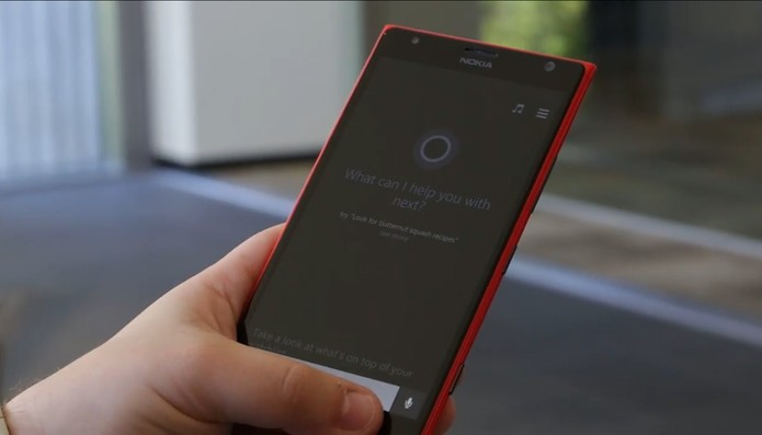 Cortana, assistente virtual do Windows Phone, acertou todas as partidas que opinou na Copa do Mundo  (Foto: Reprodução/ Microsoft)