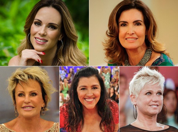 Apresentadoras revelam seus truques de beleza nas reportagens (Foto: Divulgação/ TV Globo)