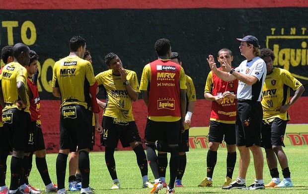 sport treino sérgio guedes (Foto: Aldo Carneiro / Pernambuco Press)
