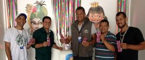 No clima de carnaval! TV Gazeta promove campanha interna de saúde; confira (Anna Pontes)