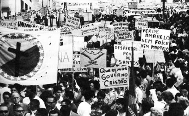 Marcha da família com Deus pela liberdade - Brasil (Foto: Reprodução)