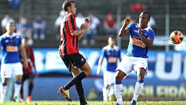 Borges jogo Atlético-PR e Cruzeiro (Foto: Agência Estado)