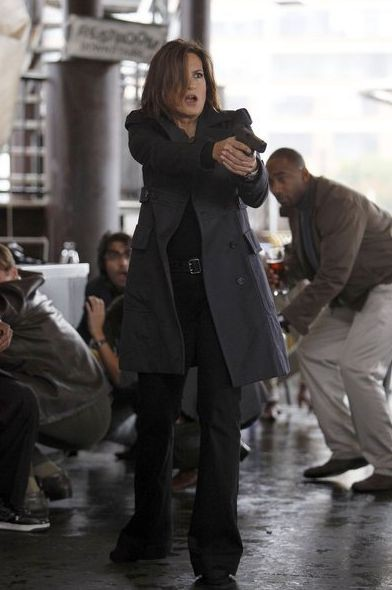 Mariska Hargitay em cena de Law and order (Foto: Divulgação)