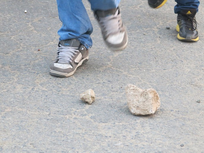 pedras confusão peru venezuela (Foto: Edgard Maciel de Sá)
