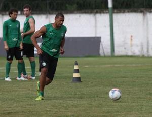 Pereira durante o treino do Coritiba (Foto: Divulgação / Site oficial do Coritiba)
