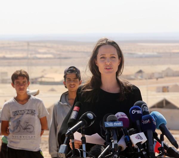 Angelina Jolie já atuou como enviada especial do Alto Comissário de Refugiados das Nações Unidas (Foto: Getty Images)