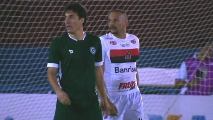 Goiás x Brasil de Pelotas - Série B 2016 (Foto: Reprodução / PFC)