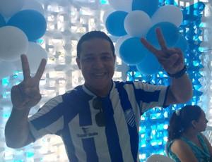 Torcedor CSA (Foto: Viviane Leão/GloboEsporte.com)