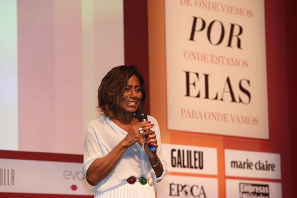 """Glória Maria no evento """"Elas por Elas"""" (Foto: Divulgação)"""
