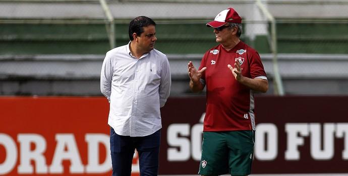 jorge macedo, levir culpi, fluminense (Foto: Nelson Perez/Fluminense FC)