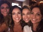 Fernanda Gentil mostra vídeo de Daniela Mercury cantando em festa