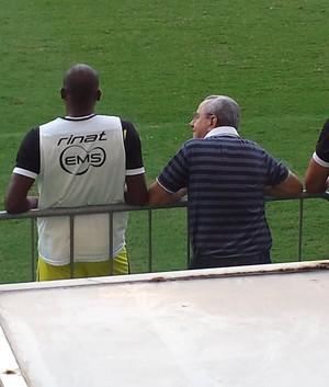 Léo Fortunato zagueiro do ABC (Foto: Mallyk Nagib/CBN)