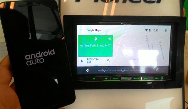 Android Auto será desbloquado no começo de abril (Foto: Peter Fussy / G1)