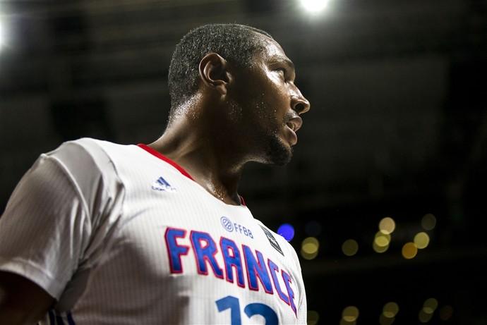Boris Diaw foi o grande destaque da França com 15 pontos e cinco rebotes (Foto: Divulgação/FIBA)