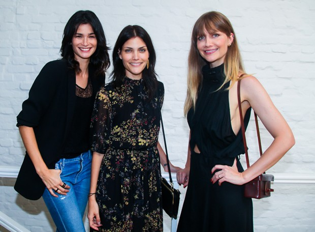 Carol Ribeiro, Luciana Curtis e Ana Claudia Michels (Foto: Manuela Scarpa/Brazil News)