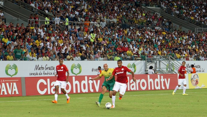 Cuiabá e Internacional empatam na Arena Pantanal (Foto: Pedro Lima/Cuiabá Esporte Clube)