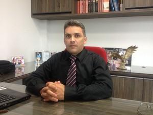 Delegado, Sávio Pinto, Dema, Macapá, Amapá,  (Foto: Fabiana Figueiredo/G1)
