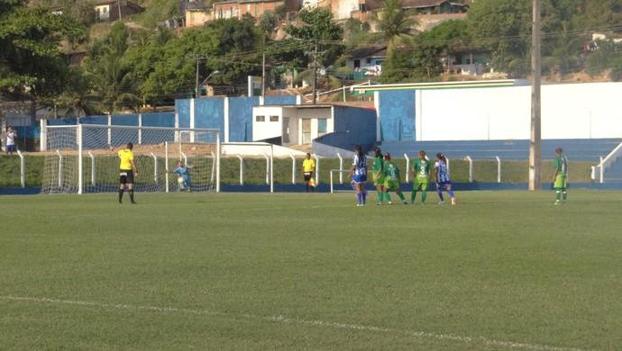 CSA vence Coruripe por 6 a 0 e está na final da Copa Rainha Marta (Foto: Paulo Victor Malta/GloboEsporte.com)