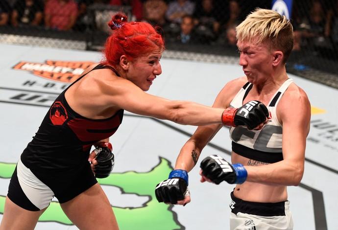 Randa Markos Jocelyn Jones-Lybarger UFC Ottawa (Foto: Getty Images)