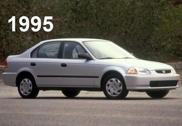Sexta geração do Honda Civic, de 1995 (Foto: Divulgação)