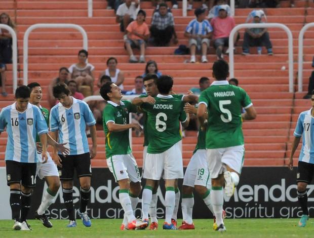 Danny Bejarano gol Bolivia (Foto: AP)