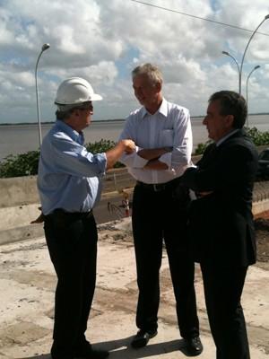 Prefeito afirmou que não recebeu estudo técnico da EPTC sobre tarifas (Foto: Dayanne Rodrigues/RBS TV)