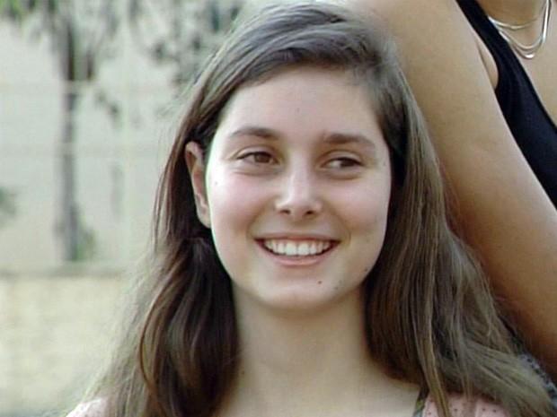 Menina conta como fugiu de sequestro. (Foto: Reprodução EPTV)